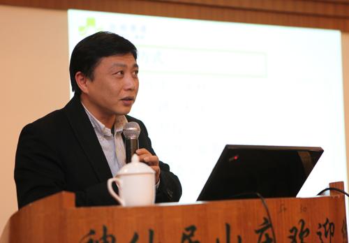 路桥医院执行院长徐颖鹤汇报院区年度工作目标